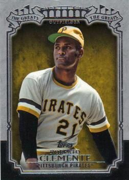 2013 Topps - The Greats TG-1 Roberto Clemente Pittsburgh Pirates Baseball Card