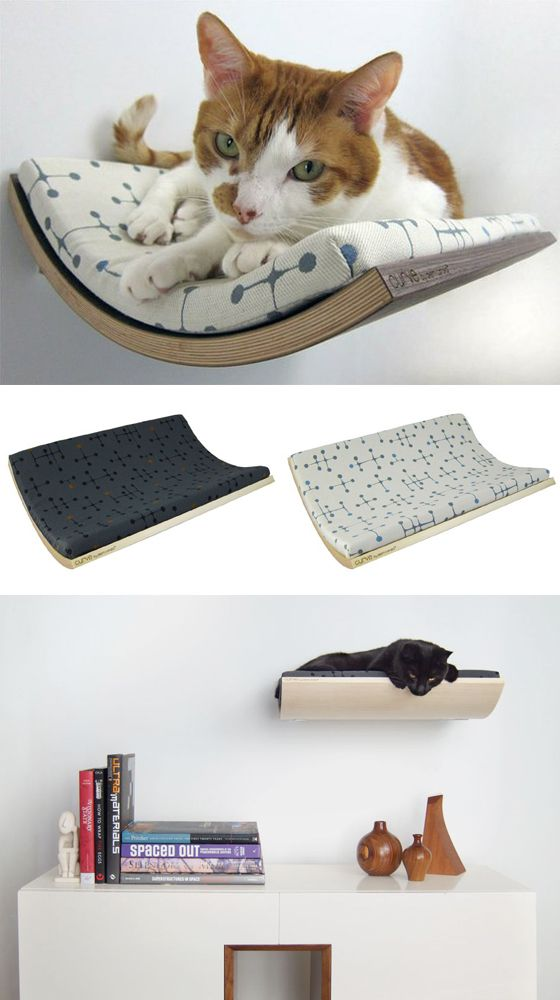 Wicked wall cat bed