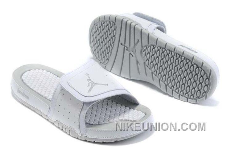 http://www.nikeunion.com/jordan-2-flip-flops-white-leather-grey-new-release.html JORDAN 2 FLIP FLOPS WHITE LEATHER GREY NEW RELEASE Only $40.46 , Free Shipping!