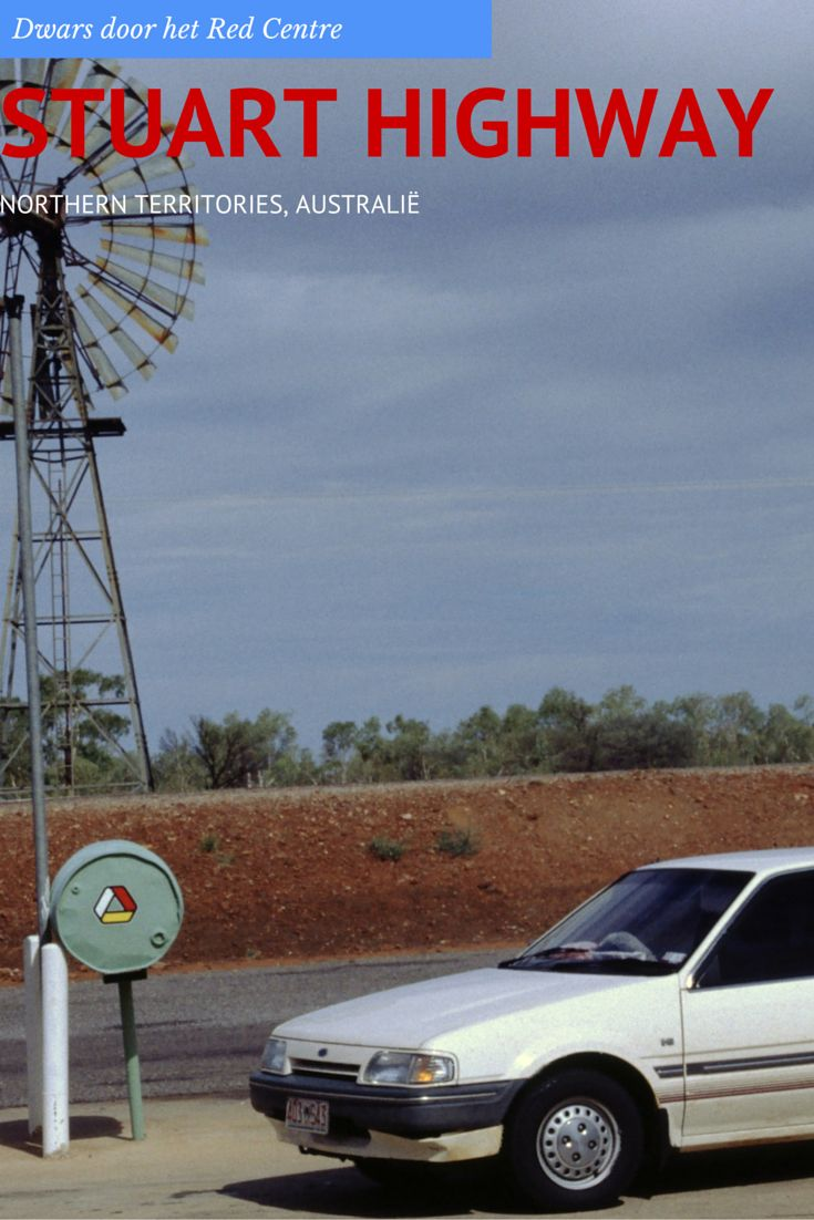 Wij vervolgen onze bizarre tocht over Stuart Highway in het gezelschap van een oude dame die we in haar eigen auto naar Alice Springs moeten brengen.