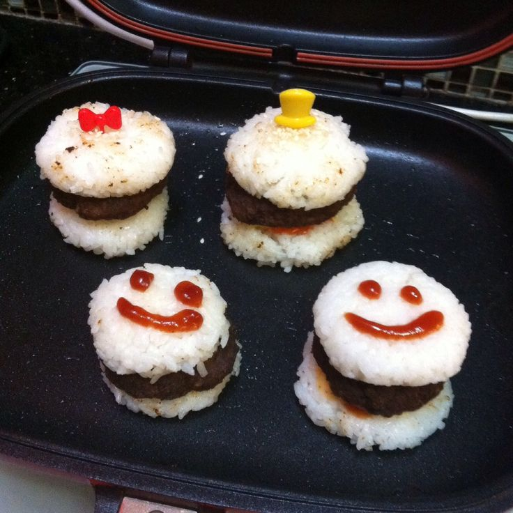 my mini Rice Burger||breakfast