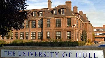 The University of Hull - one of the best places to study in the UK.