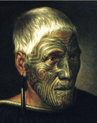Maori Chief - Aotearoa (Land of the Long White Cloud) New Zealand