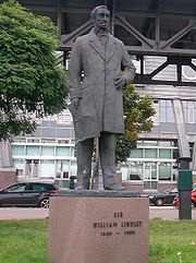 William Lindley Statue, Hamburg-Neustadt ~ #Lindley
