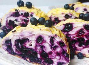 Творожно-ягодный рулет из лаваша — десерт века!