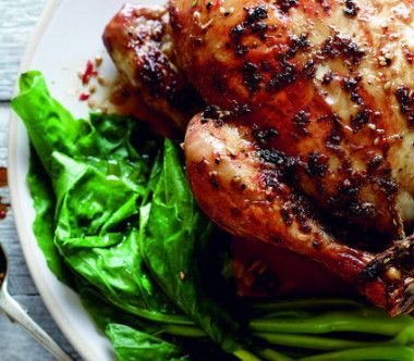 Shantung Roast Chicken – Pete Evans Made this for Valentine's Day dinner