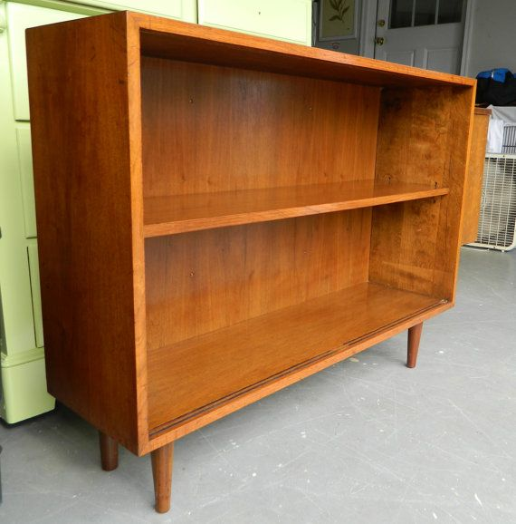 Thrifted midcentury bookcase