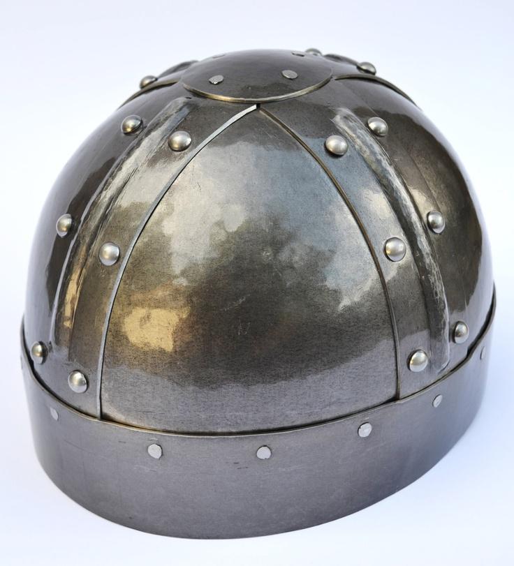 Viking Hemispherical Spangenhelm. $135.00, via Etsy.