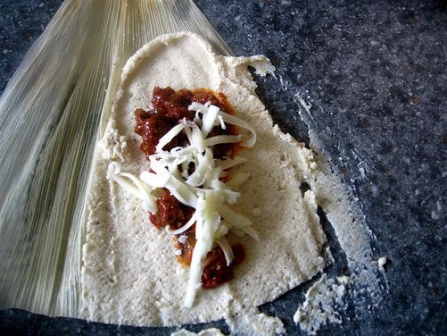 Tamales. I am intimidated, but intrigued. This seems like a good place to start: Food 52's Easy, Homemade Tamales