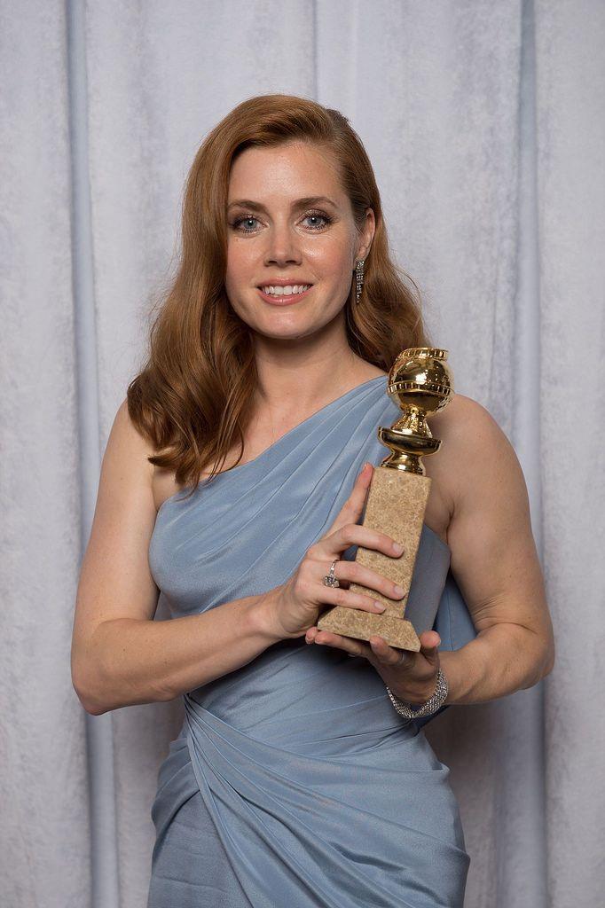 Эми Адамс — Фотосессия на «Golden Globe Awards» 2015 – 2