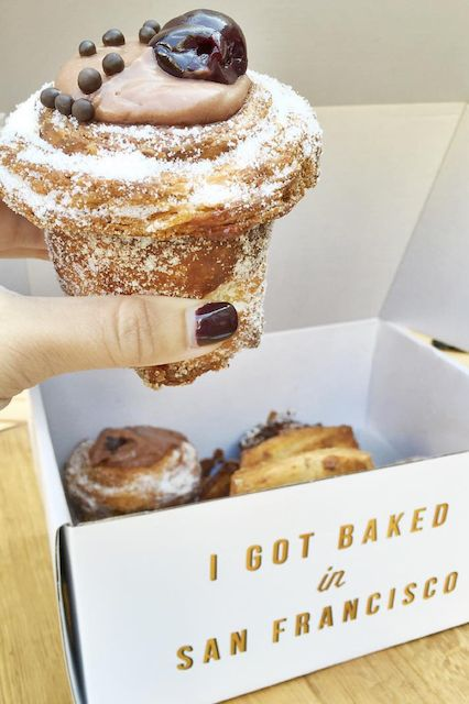 "The Most Instagrammed Breakfast Spots In S.F. #refinery29  http://www.refinery29.com/san-francisco-best-breakfast#slide-6  Mr. Holmes BakehouseWhere New York City has the cronut, S.F. has its own pastry fusion treat sold every morning until the bakery is sold out. That's right, you've stumbled upon Mr. Holmes Bakehouse, otherwise known as the home of the ""cruffin."""