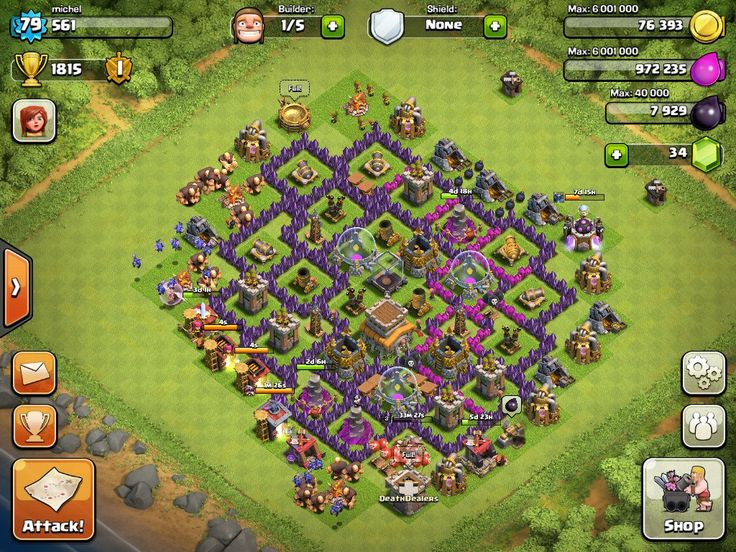 Clash of Clans | Layouts for Town Hall Level Eight (TH8)