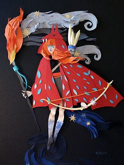 Paper art by Morgana Wallace