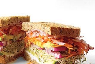 California Veggie Sandwich | Recipes/Food/Drinks | Pinterest