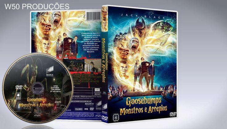 Goosebumps - Monstros E Arrepios - CAPA - ➨ Vitrine - Galeria De Capas - MundoNet   Capas & Labels Customizados