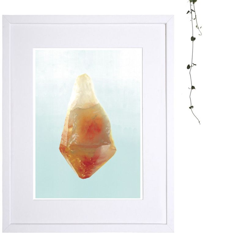 .Citrine. Limited edition print