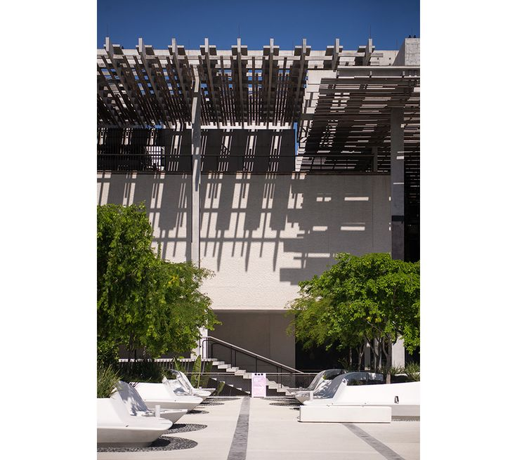 PAMM Shadow Detail The Perez Art Museum Miami is a Monument to Tropical Modernism