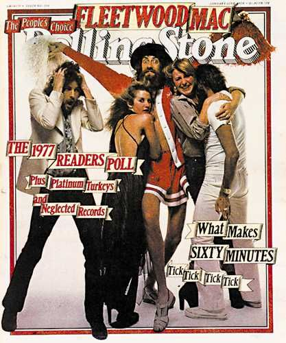 Rolling Stone Fleetwood Mac 1977. Want to hang it on my wall in my apartment.