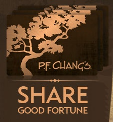 I LOVE Chang's spicy chicken. As much as I eat at PF change, I should own stock in this company:)