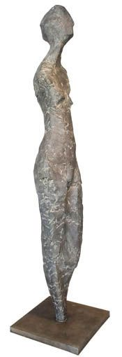 An Original #Sculpture by #TheoMegaw entitled: Tall Nude  #Nude #Art #Bronze #FineArt #SouthAfricanArtist  For more please visit www.finearts.co.za