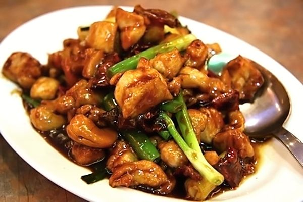 Sečuánské kuře na chilli