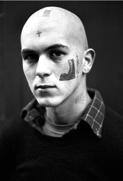 Derek Ridgers, French Skinhead, 1982