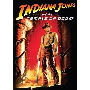 """""""Indiana Jones and the Temple of Doom"""" starring Harrison Ford (1984)"""