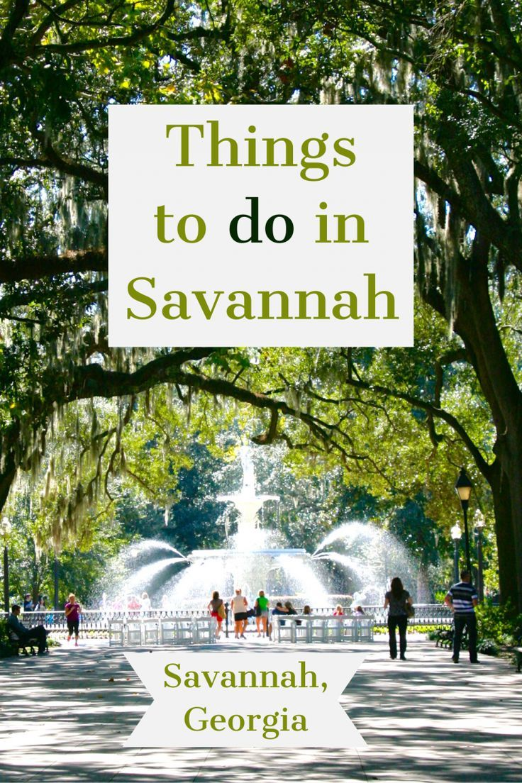 Savannah Ga Our Guide To The Best Things To Do Savannah Chat