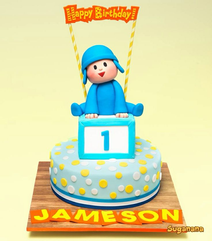 17 Best images about Ideias para Bolos - Pocoyo on ...