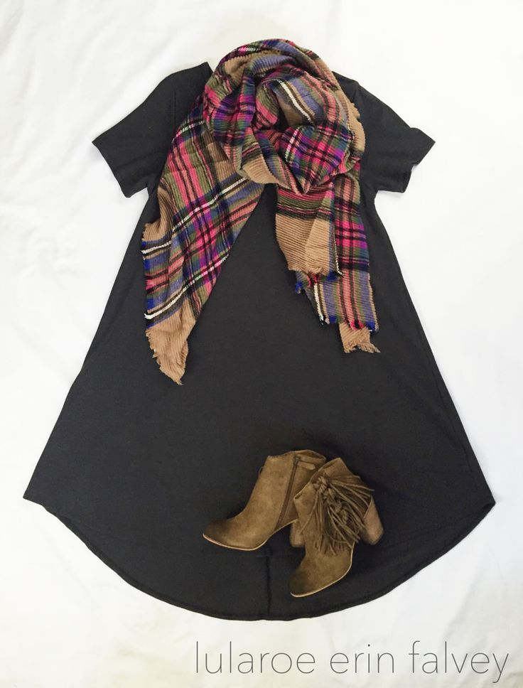 lularoe carly | booties | blanket scarf