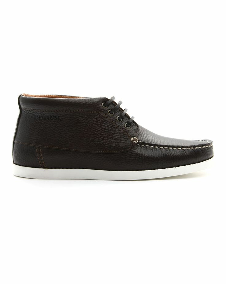 Pointer | Benson marron en cuir