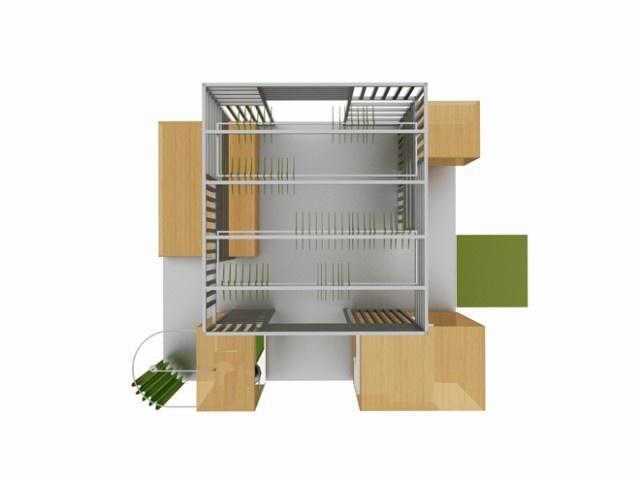 ¿Vestidor o apartamento? Una vivienda mínima en 16 m²