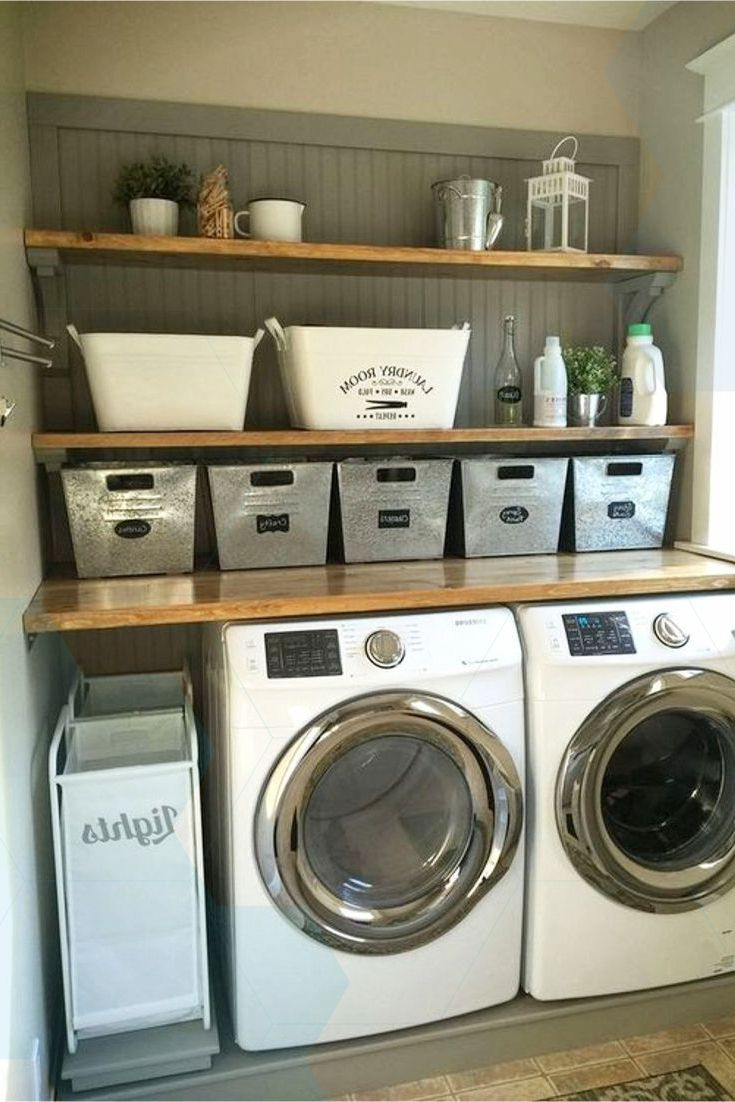 Laundry Corner Ideas Diy Ideas For Laundry Corner In Garage