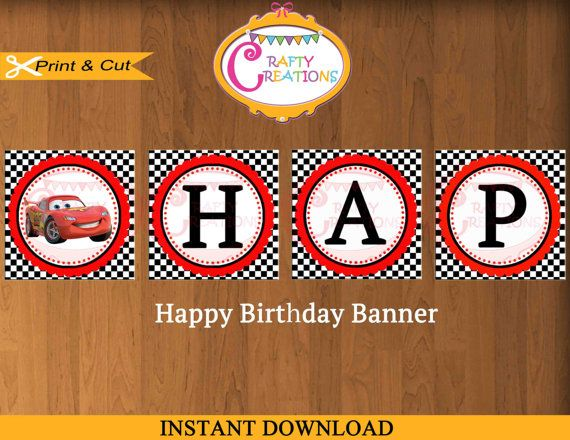 Cars  Party Supplies