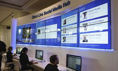 Networking for networking: how Cisco uses social media marketing