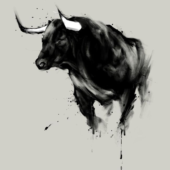 Bull Shirt is a T Shirt designed by kdeuce to illu…