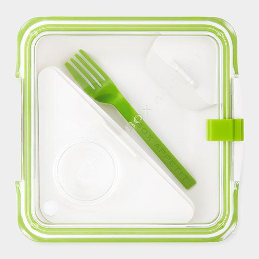 The Box Appetit Lunch Container from Moma is great for the sophisticated child as well as an adult who likes to be organized. It's $22.