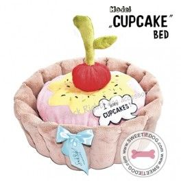 Panier chien et chat Cupcake Suck Right Dog! www.sweetiedog.com