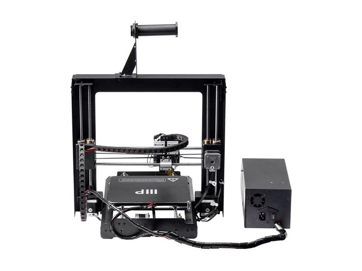 If you're ready to take your ideas and designs from paper or CAD file to the next level, the Monoprice MAKER SELECT 3D Printer is the perfect starter solution for your needs! Unlike kit-based printers, which require a certain level of knowledge, experience, and time to assemble, the MAKER SELECT 3D Printer is assembled using only 6 screws and includes everything you need to begin printing right out of the box. It has the ability to print any type of 3D filament and has a price point lowe...