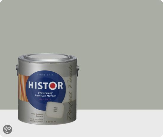 Histor Perfect Finish Muurverf Mat 2,5 liter - Grind