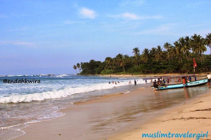 Pantai Laguna Pari in Kabupaten Lebak, Banten
