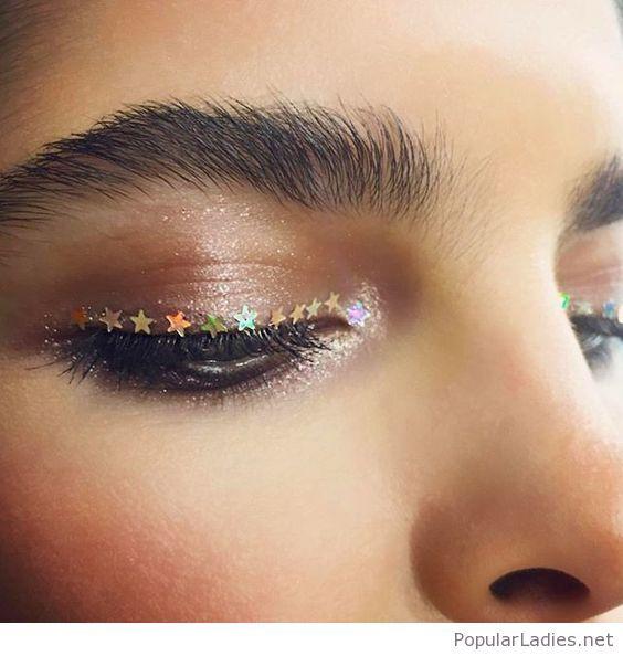 Cute star eye line