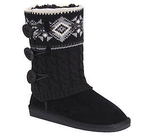 MUK LUKS Mid-Calf Boots - Cheryl #midcalfboots