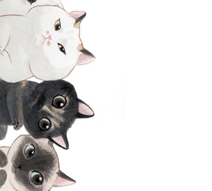 Cara Menggambar Kucing Kartun Menggambar Menggunakan Kata Cat Menjadi Sebuah Kucing Kartun Cara Menggambar Kartun U Menggambar Kucing Wallpaper Seni Kucing