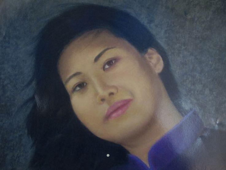 Soft pastel portrait of my friend Jenny