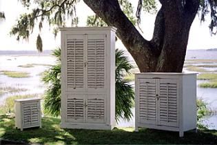 painted coastal furniture: Shutters Doors, Cottages Style, Beach House, Coastal Furniture, Decor Cottages, Shutters Decor, Furniture Ideas, Cottages Furniture, House Projects