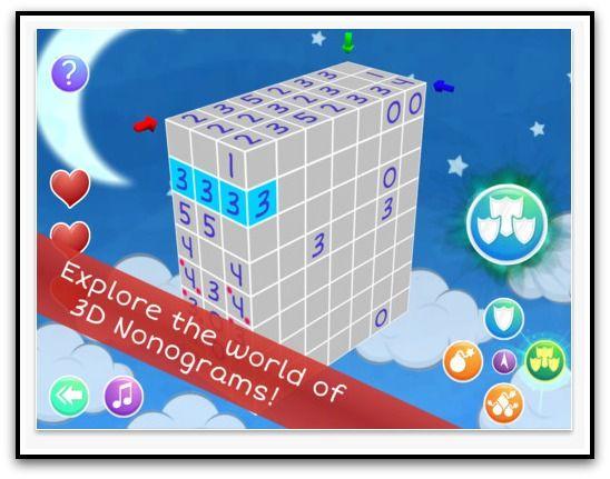 nonocube puzzle game  //6 Super Fun Puzzle Apps to Stimulate Your Brain!