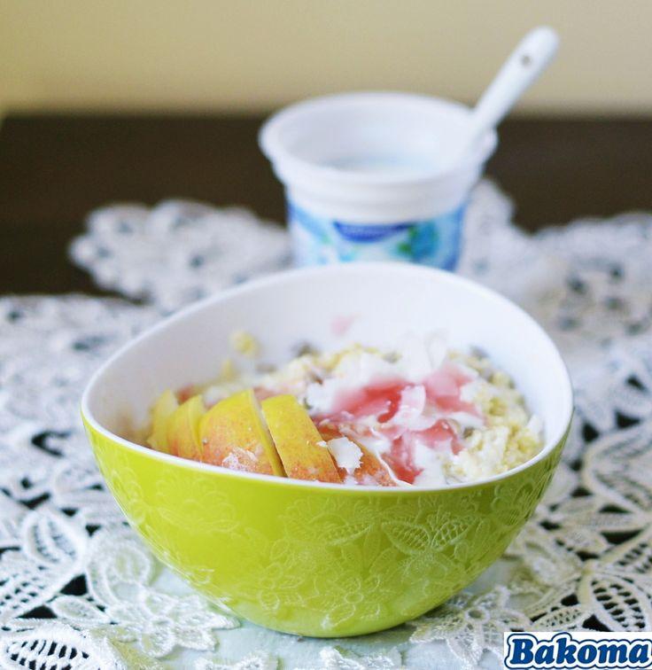 jogurtowa kasza jaglana