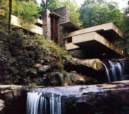 Wright - Vízesés ház