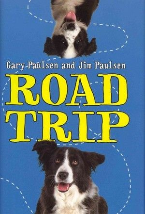 Road Trip  by JIM PAULSEN and GARY PAULSEN    Hardcover, 114 pages, Random House Childrens Books, List Price: $12.99  NPR Book Summary -   A father and son embark on a road trip to a distant animal shelter to save a homeless border collie puppy. By the author of Crush; Paintings from the Cave; Flat Broke; Liar, Liar; Masters of Disaster; Lawn Boy Returns; Woods Runner; Notes from the Dog; Mudshark; and Lawn Boy.